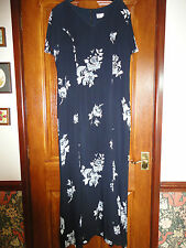 Libra dark navy and white dress size 12