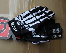 QEPAE skeleton Practical Sport Gloves Cycling Bike Bicycle Full Finger Glove