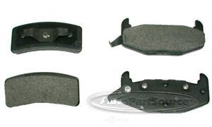 Disc Brake Pad Set-Ceramic Pads Rear Tru Star CBP377