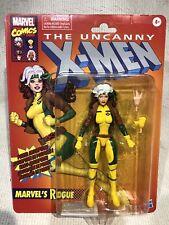"ROGUE Hasbro Marvel Legends Series Retro 6"" Action Figure Uncanny X-Men IN HAND"