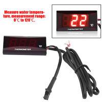 Motorrad Digital Thermometer Wasser Temperaturanzeige Meter für Racing Roller