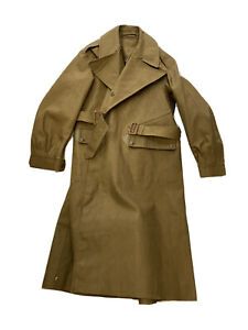 WWII 1945 Dated Despatch Riders Coat WW2 Motorcycle Dispatch Rider Heavy Jacket