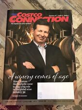 Costco Connection Magazine Sept 2017 Chateau Ste Michelle Wine Ken Follett