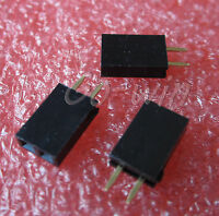 100pcs New Single Row 1x2 pins 2.54mm Pitch Female Header straight