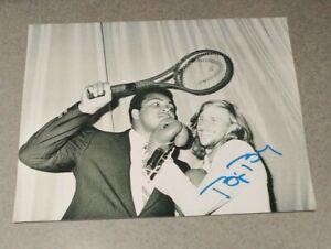 Bjorn Borg Legendary TENNIS Star Signed Autographed 8x10 Photo