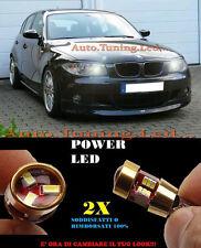 LUCI POSIZIONE BMW SERIE 1 E87 E82 E81 E88 CANBUS T10 BIANCO 27 LED SUPER QUALIT