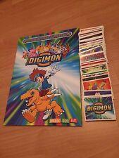 Magic Box INT Sticker Set of 244 Digimon And Empty Album Like Panini 2000
