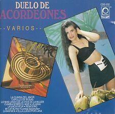 Lisandro Meza Morgan Blanco Rafael Mejia Duelo De Acordeones CD No Plastic Seal