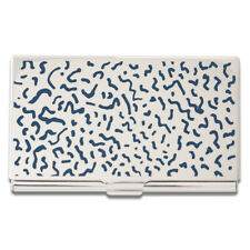 """ACME Studio """"Bacterio"""" Etched Card Case by MEMPHIS Founder Ettore Sottsass"""