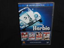 Herbie, Disney Herbie: 4-Movie Collection (DVD, 2012, 4-Disc Set)