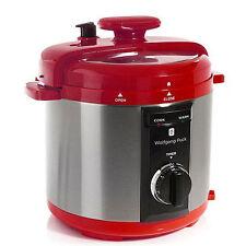 Vaporiere e pentole elettriche da cucina rosso