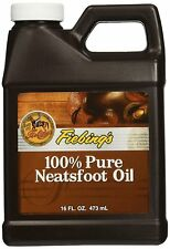 Fiebing's 100% Pure Neatsfoot Oil Natural Leather Preservative 16 oz