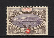 403208/ Reklamemarke - Exposition Nationale Suisse - Geneve 1896 - **