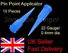 10 Needle Glue Applicator Tips 0.41mm Card Crafts Model Making Scrapbooking