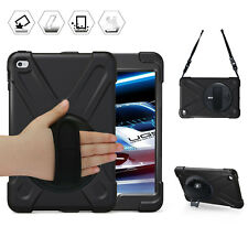 Shockproof Smart Case for Apple iPad Mini 4 With 360° Rotatable Stand Cover Skin
