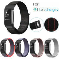For Fitbit Charge 2 Replacement Spare Nylon Watch Band Strap Wrist Bracelet