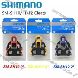 SHIMANO For Bike Float fixed SPD-SL Road Bike Pedal SM-SH10/11/12 Cleat set CMT