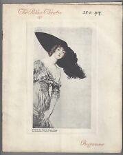 "Gaby Deslys ""PASSING SHOW"" Basil Hallam / Violet Essex 1914 London Program"