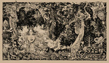MONDO Poster - Lord of the Rings - Vania Zouravliov - Oatmeal Colorway 2 - x/160