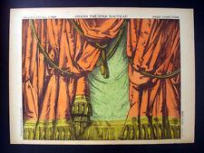 Pellerin Imagerie D'Epinal-Grand Theatre Nouveau No 1626 Stage Curtain Inv1747