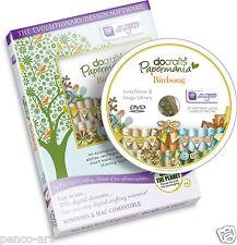 CD Rom DVD Docrafts Papermania Chants D'Oiseaux Pour Scapbooking