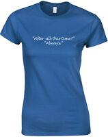 I Trust Severus Snape, Harry Potter inspired Ladies' Printed T-Shirt