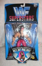 WF Superstars World Wrestling Federation's Bret Hit Man Hart Action Figure Toy