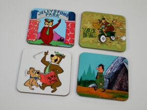 Yogi Bear Fantastic Jellystone Park COASTER Set
