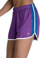 8300 CHAMPION Womens Flex Athletic Workout Shorts LG Large 12-14 Running Gym