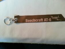 Beechcraft AT-6 Multi-Mission Solution Flight Tag Keychain Brown NEW Style 1