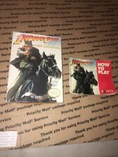 Indiana Jones Last Crusade Box and Manual Only Taito Nintendo Nes 1982