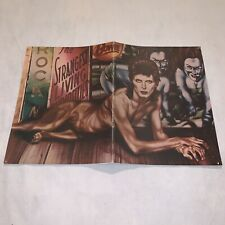 David Bowie 1974 Diamond Dogs Tour Concert Program Book / Excellent Shape