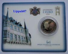Luxemburg / Luxembourg speciale 2 euro 2004 Monogram BU in Coincard