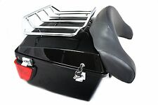 Mutazu King Size Tour Pak® With Top Rack for Harley Davidsion Touring Models 2