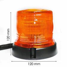 LED Rundumleuchte Warnleuchte Leuchte gelb 12V/24Vmit Magnetfuß E9 für Traktor