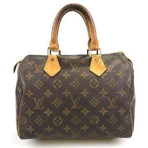 100% authentic Louis Vuitton Speedy 30 handbag M41526 Used 901-3-ed