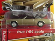 Auto World 1967 CADILLAC ELDORADO gold w/ black top MIB 1:64-scale 2019 new
