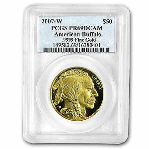2007-W 1 oz Proof Gold Buffalo PR-69 PCGS - SKU#29722