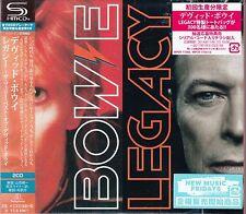 David Bowie-Legacy, 2 x shm CD JAPON NOUVEAU!