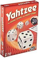 Hasbro 4024 - Yahtzee Classic Family Dice Game Shake Score and Shout Pad Board