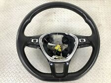 2016  VW POLO 2009-2018 MULTIFUNCTION LEATHER STEERING WHEEL 6C0419091E