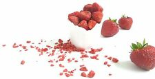 Freeze Dried Strawberry Grit 75g