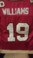 Mike Williams #19 Tampa Bay Buccaneers Reebok Sz 50 Red Football Stitched Jersey