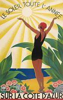 183 Vintage Travel Poster  Cote D'Azur   *FREE POSTERS