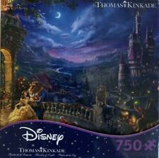 Disney Dreams Collection Kinkade Beauty and the Beast Dancing 750 Puzzle Ceaco