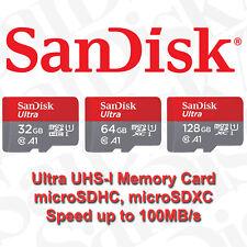 SanDisk Micro SD Card 16GB 32GB 64GB 128GB 256GB 400GB Ultra Class 10 Memory A1