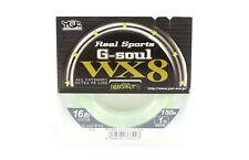 YGK P.E Ligne G Soul WX8 150m P.E 1.0 , 16lb (3223)