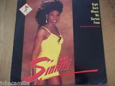 """SINITTA - RIGHT BACK WHERE WE STARTED FROM - 12"""" RECORD - FANFARE - 12 FAN 18"""