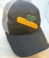 DEKALB SEED *WHITE /& GREEN MESH BACK* Trademark Logo CAP HAT *BRAND NEW* DS16