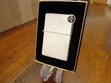 #260 VINTAGE 1937 SERIES HIGH POLISH CHROME ZIPPO LIGHTER MINT IN BOX 2003